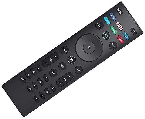 SccKcc Mando a distancia compatible con todos los televisores inteligentes Vizio-Control remoto Vizio LCD LED QLED HD 4K UHD HDR SMARTCAST incluidos.