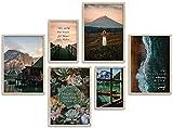 ARTFAVES® Poster Set - BEAUTIFUL EARTH | Wanddeko
