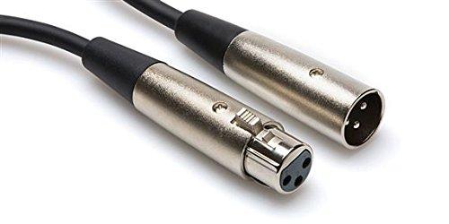 Hosa XLR-110 XLR3F to XLR3M Balanced Interconnect Cable, 10 Feet