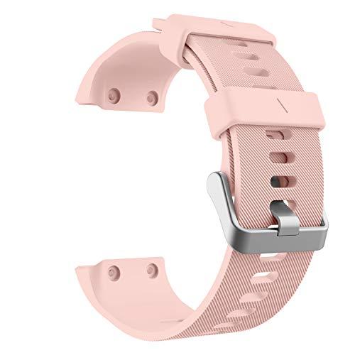 MoKo Pulsera para Garmin Forerunner 35, Banda de Reloj de Silicona - Rosa
