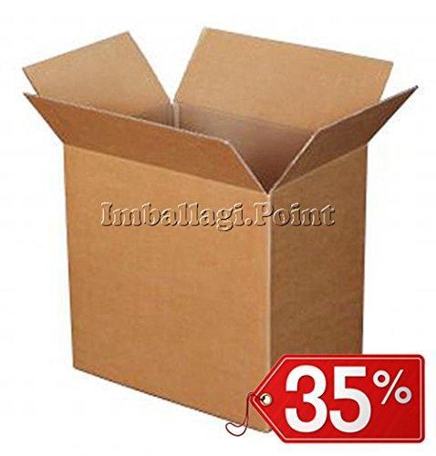 40 stuks kartonnen doos, dubbelzijdig, zeer sterk, 100 x 50 x 50 cm.