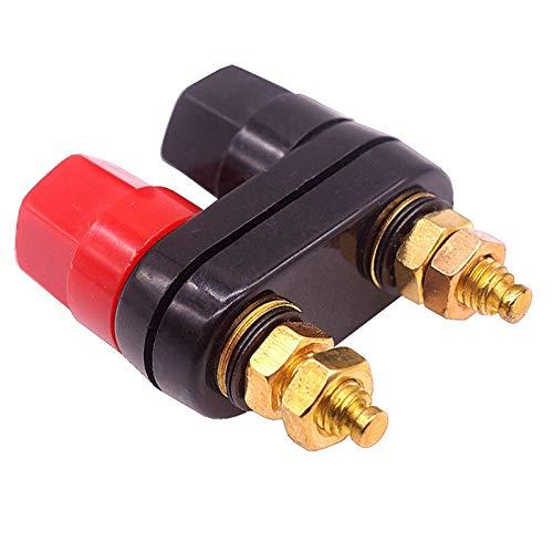 Conector de bocina 1/2/3/4/5 PCSBANANA TRADUS COMPLETOS TERMINALES Rojo Conector Negro Amplificador...