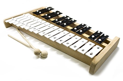 Pro Kussion Soprano Bois Professionnel Glockenspiel Xylophone (X-Series) (sans couvercle)