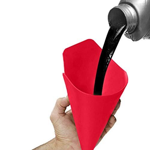 HSKB Trichtersatz Auto Werkzeug Flexibler Trichter Universal Trichter-Set Multifunction öl Flexibles Entleerungs Funnel Flexible Draining Tool - General Purpose (50 × 20 cm)