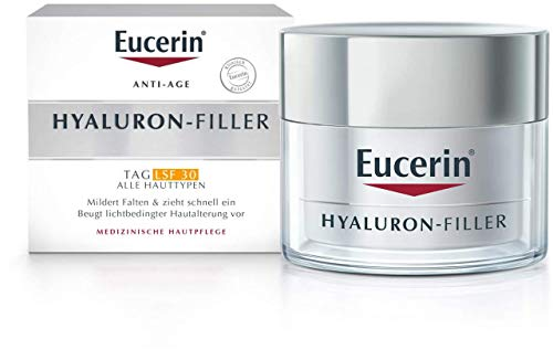 Eucerin Hyaluron-Filler Tagescreme für alle Hauttypen LSF 30