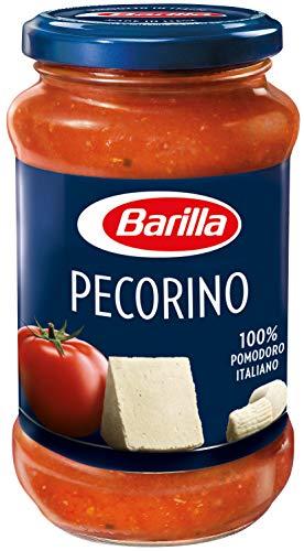Barilla Pastasauce Pecorino – Sauce mit Pecorino Romano 1 Glas (1x400g)