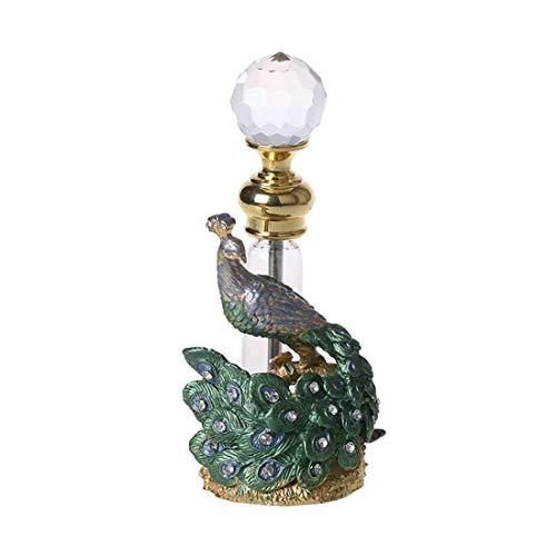 Kücheks Frasco de Perfume Recargable vacío de Cristal de Joya de estatuilla...