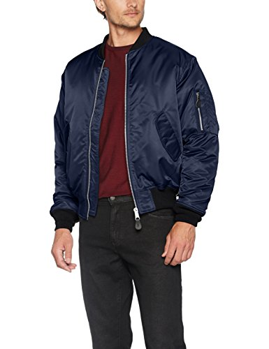 Brandit MA1 Jacke Navy (Limited Black Edition) L
