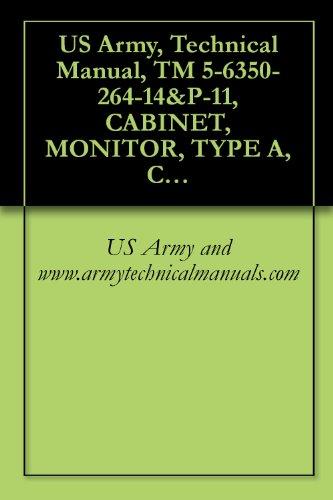 US Army, Technical Manual, TM 5-6350-264-14&P-11, CABINET, MONITOR, TYPE A, CY-7359/FSS-9(V), NSN 6350-00-228-269, B, CY-7360/FSS-9(V), (6350-00-228-2697) (English Edition)
