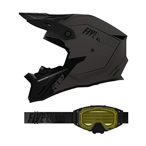 509 Altitude 2.0 Helmet/Sinister X6 Goggle Combo - Black Ops (2X)