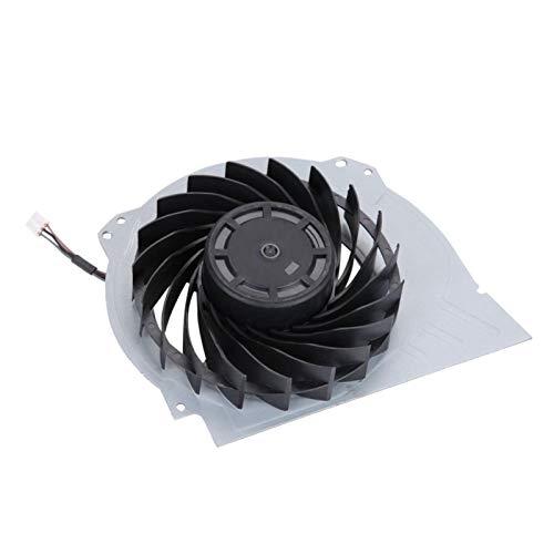 Surebuy Ventilador de refrigeración Compacto Pieza de reparación de Repuesto para Ventilador de refrigeración Interno Negro, para PS4 Pro 7000-7500