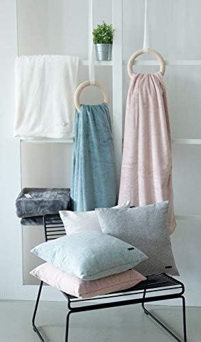 Harp Zierkissenh/ülle anthrazit /• Kissenh/ülle 40x40 ohne F/üllung /• hochwertiger Kunstfaser Bezug /• waschbarer Zierkissenbezug