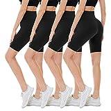 CAMPSNAIL 4 Pack Biker Shorts for Women – 8