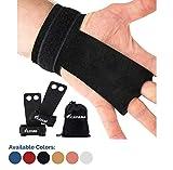 KAYANA 2 Hole Leather Gymnastics Hand Grips - Palm Protection and...