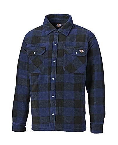 Dickies Herren Holzfällerhemd mit Steppfütterung (Kornblau,L)