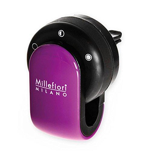 Millefiori Milano 13GO12 Bois de Santal Bergamote Parfum de Voiture avec Capsules GO Violet