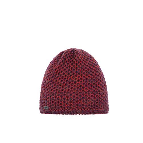 Eisbär Damen Tula OS Mütze, rotblau