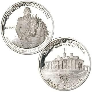 1982 S George Washington Silver Commemorative Half Dollar Proof