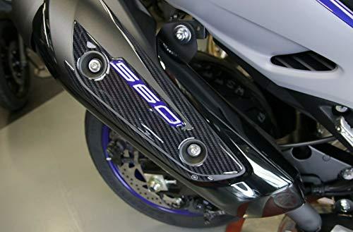 inscription Xmax Labelbike Lot de 2/autocollants//stickers en r/ésine 3D accessoires pour scooter Yamaha X Max noir