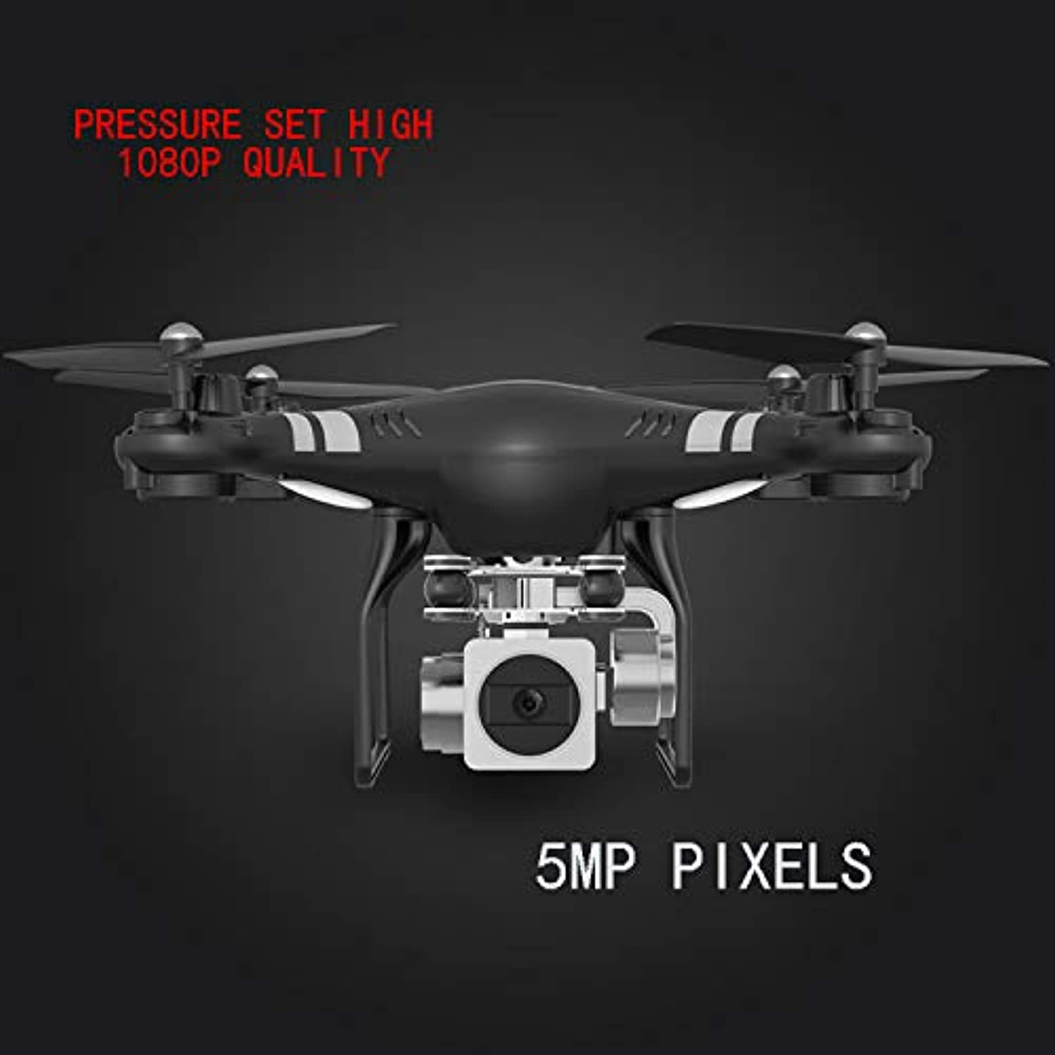 Generic 5MP HD Camera Drone WiFi FPV Live Quadcopter Smart Altitude Hold Hover RC Helicopter 2.4G 6 Axis Gyro Drone Drones with Camera 5MP camera10
