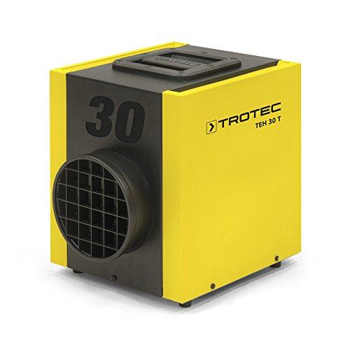 TROTEC TEH 30 T Elektroheizer, Bauheizer mit 3,3 kW mit widerstandsfähiger Schutzlackierung