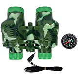VGEBY1 Children Binoculars, Kids Binocular Scope Birding Toy Telescope with Compass for Sightseeing...