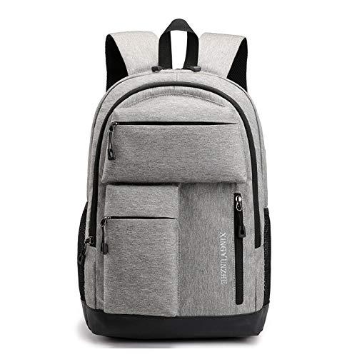 CCTYJ multifunctionele rugzak voor laptop, mannen, USB, schooltas voor jongeren, casual rugzak, Oxford, hoge capaciteit