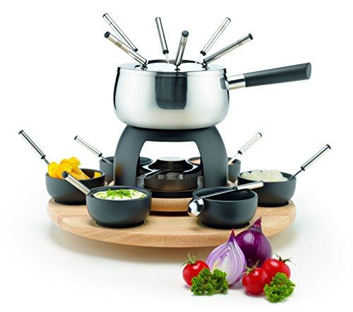 Domestic by Mäser – Juego de fondue (20 piezas, para 6 pe