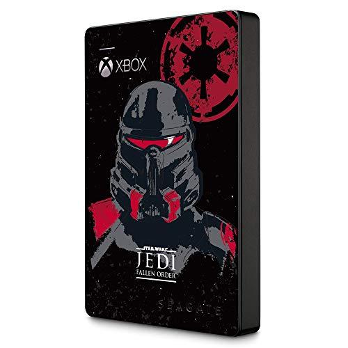 Seagate Game Drive Xbox GamePass Edition JEDI, tragbare externe Festplatte 2 TB, 2.5 Zoll, USB 3.0, Xbox, inkl. 2 Jahre Rescue Service, Modellnr.: STEA2000426
