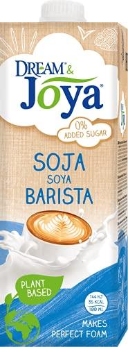 Joya Soja Barista Drink   10er Pack (10 x 1L)   Plantbased   laktosefrei   pflanzlicher Drink   Perfekt für Kaffee