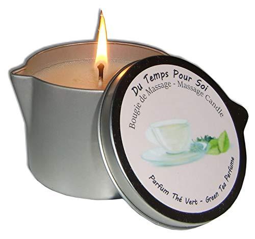 Du temps pour soi - Candela per massaggi Storepil al Tè verde, 150 g