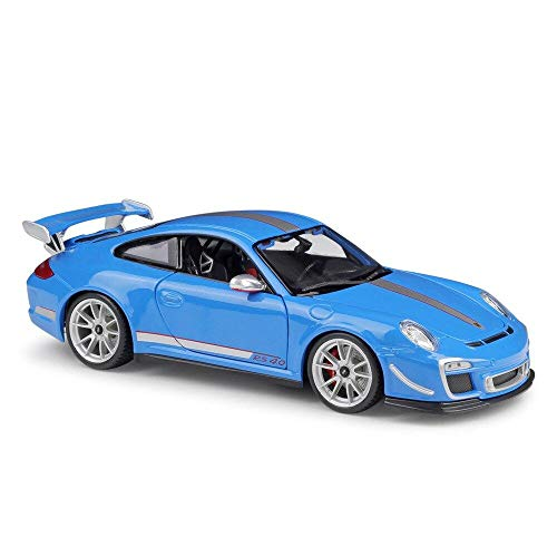 Diecast Bburago Porsche 911 GT3 RS (997/II) blau 1:18
