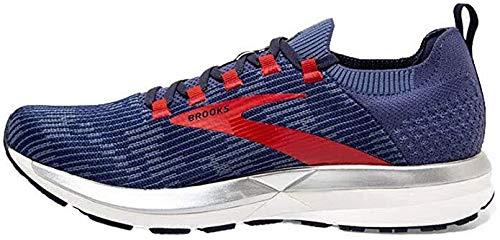 Brooks Herren Ricochet 2 Laufschuh, Deep Cobalt/Blue/Red, 40 EU