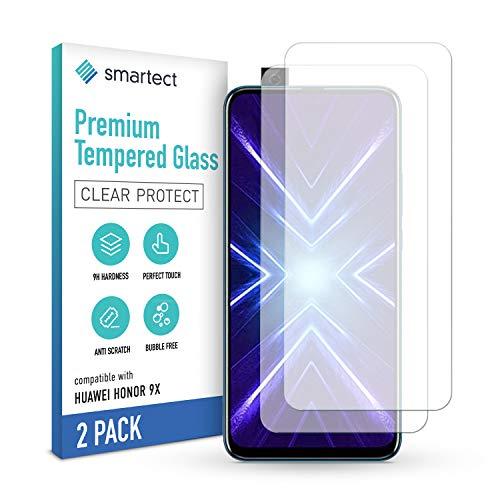 smartect Pellicola Protettiva per Honor 9X [2 Pezzi] - 9H Vetro Temperato – Design Ultra Sottile – Applicazione Anti-Bolle – Anti-Impronte