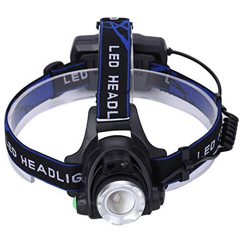 Lámpara de Cabeza LED Recargable por USB, Foco telescópico T6, Foco de...