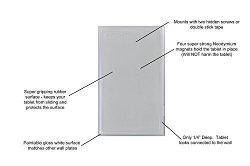 Magnetic Tablet Wall Mount