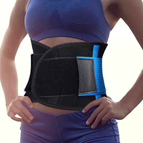 Cinturón para dar forma al cuerpo, Cintura deportiva para fitness Cinturón de soporte para la cintura ajustable para dar forma al cuerpo, Promover la transpiración, para mujeres Hombres