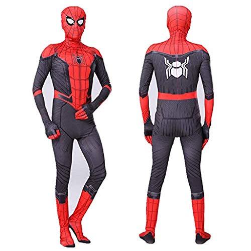 WOLJW Spiderman Kostuum Cosplay Kleding Fancy Kleding Kostuum Bodysuit Jumpsuits Kleding Rol Spelen Kostuum Kinderen/volwassenen 3D Stijl