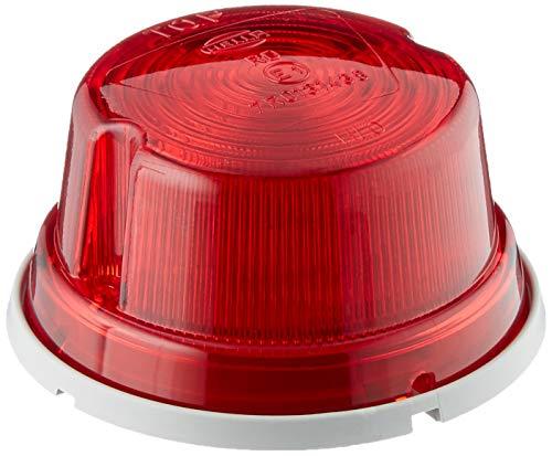 HELLA 2SA 001 259-751 Schlussleuchte - C5W - 12V/24V - Lichtscheibenfarbe: rot - Anbau - Einbauort: hinten/links/oben/rechts