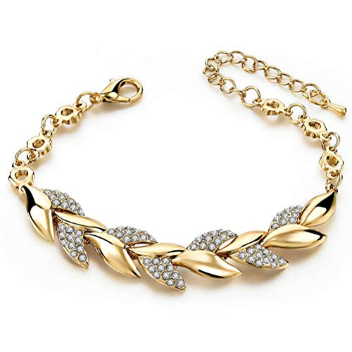 Regalo di San Valentino bracciale di cristallo, bracciali di lusso per le donne, bracciali di cristallo regolabili, bracciali di cristallo per i gioielli di nozze delle donne