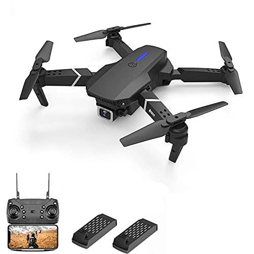Pieghevole Drone 4K Doppia fotocamera ad alta definizione Adatto for adulti Bambini e principianti Modalità senza testa/One-Button Take-off e Atterraggio/Holding Hold/Real-Time Image Transmission Tel