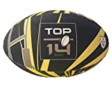 Gilbert Mini Ballon de Rugby - Top 14 - Collection Officielle - Taille 1