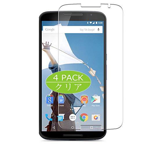 VacFun 4 Piezas HD Claro Protector de Pantalla para Google Nexus 6...