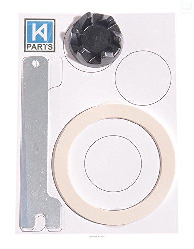 Kompatibles Ersatz black rubber coupler (AKA clutch or coupling) für KitchenAid KSB52 Blender