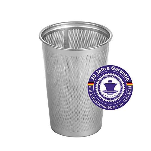 GAIWAN SP500: Teefilter für losen Tee, feines Teesieb aus Edelstahl, Dauerfilter, 30 Jahre Herstellergarantie