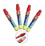BENGO Confezione da 4 Penne di Aqua per Doodle Tappeto Magico Aqua