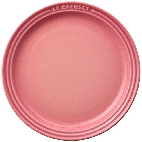 ル・クルーゼ(Le Creuset) 皿 ラウンド・プレート 19 cm ローズクォーツ 耐熱 耐冷 電子レンジ オーブン 対応 【日本正規販売品】