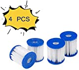 HHDL 2 o 4 paquetes para cartuchos de filtro de piscina Bestway, fácil de instalar, cartucho de filtro, tipo 1