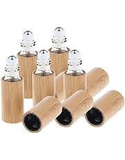 FITYLE 5 Stuks Lege Roll-on Fles Rollerflesjes voor Zelfvulling, voor Etherische Olie, Parfum, 5ml