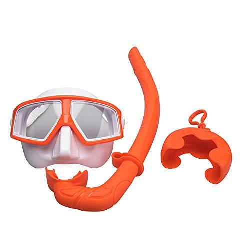 HYRL Professionele siliconen duikmasker zwart Scuba snorkel zwembril Dry Snorkel tube set mannen vrouwen duiken anti-condens bril